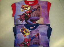 Boys Warm Spiderman Pyjamas  Ages 4 - 6 - 8 - 10 -12  Ideal for winter  - BNWT