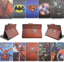 Universal tablet case 7 8 10.1 batman Cartoon PU Leather Cover For Apple Samsung
