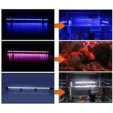Aquarium Fish Tank Waterproof 48cm 24pcs LED Light Bar Submersible 3 LED Colors