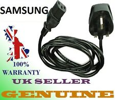 Samsung Mains Power Cable Cord Lead for Lcd TV Plasma 3 Pin **UK CE Standard**