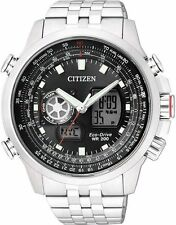 Citizen Promaster Sky World Time Chronograph Pilots Watch JZ1060-76E JZ1061-57E