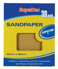 Brand New SupaDec General Purpose Sandpaper of different size & Types Available