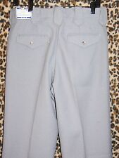 NEW H Bar C Western slacks polyester pants 29 30 31 NWT Midnight Blue, Tan, Gray