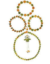 Recycled Orange Peel Wreaths and Garland Handmade in Colombia | Fair Trade |