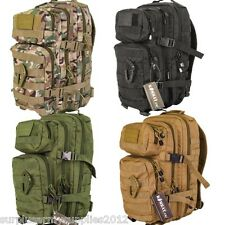 MILITARY 28 LITRE RUCKSACK + PATCH CARABINA MOLLE BAG BRITISH ARMY HIKING CADET