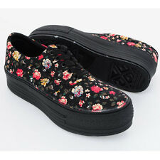 New Women' MAXSTAR Heel High Top Platform Shoes Flower Fashion Sneakers Shoes