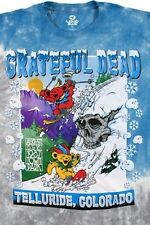 GRATEFUL DEAD-BEAR MOUNTAIN-AUG '87 TELLURIDE-TIE DYE T SHIRT M-L-XL-XXL Skull