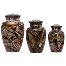 Camouflage Outdoor Companion Pet Memorial Cremation Urn Small Large Dog Hunting