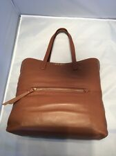 MIU MIU NERO LEATHER LARGE TOTE BROWN GOLD HANDBAG  BAG NWT RETAIL $1,895