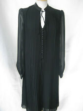 Episode designer black pleat tunic evening dress UK 8 10 12 14 Brand New rp £180