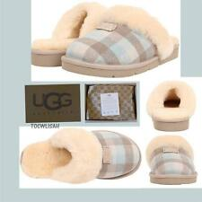 UGG Australia Cozy SALT PLAID Flannel  Slippers Sizes:7,8,9,10  NEW
