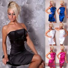 New Womens Cocktail Evening Strapless Dress Sexy Ladies Size 8 10 12 Hot Formal
