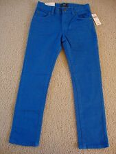 BRAND NEW GAP KIDS SKINNY FIT COLORED JEANS for BOYS BLUE COLOR