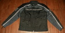 Harley Davidson Men's Leather and Textile Riding Jacket New