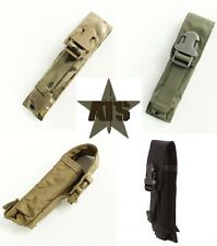 ATS Tactical MOLLE Suppressor Pouch-Multicam-Coyote-Ranger Green-Black