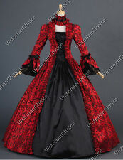 Victorian Colonial Dress Ball Gown Reenactment Clothing Theatre Steampunk 138