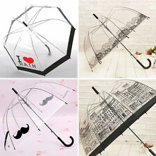 New Women's Transparent Lace Umbrellas Umbrella Beard House Creative Umbrella