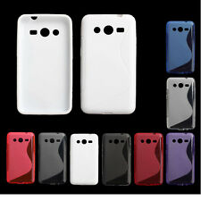 S-Line TPU Silicone Skin Case Cover For Samsung Galaxy Core 2 G355H Pop