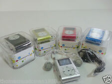 New MP3 Music Player With LED/LCD Screen & Aux Cable in Box/Bundled