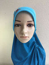 Hijab For Kids Hello Kitty Blue