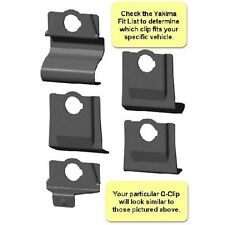 Yakima Q clips for Q towers roof mount rack