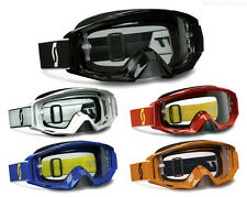 SCOTT MX TYRANT MOTOCROSS GOGGLES SOLID COLOURS with CLEAR LENS enduro bike new