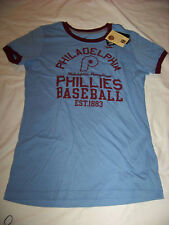 Nike SlimFit Women's Cooperstown Collection Philadelphia Phillies Shirt NWT