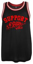 947 Support 81 World Tank Top black-red