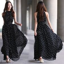 Sexy Women Summer Long Boho Maxi Evening Party Dress Chiffon Dress Beach Dresses