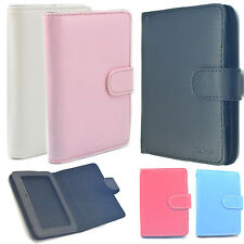 """Leather Carrying Case Cover Skins Pouch For 4"""" 4.3"""" 5"""" 5.2""""MP4 MP5  Ebook Reader"""