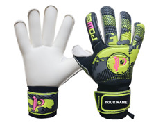 Foxon Goalkeeper Goalie Roll Finger Save Gloves Sizes  4 5 6 7 8 9 10
