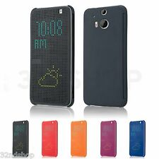 Dot Matrix Display Case Cover For HTC Desire EYE & HTC One M8 + Screen Protector