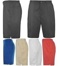 Dunlop Golf Shorts Mens Button Zip Fly Golf Trousers 4 Pockets ~All sizes 30-42W
