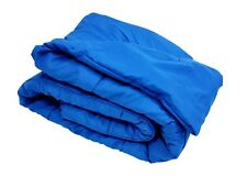 Oversized Down Alternative Comforter Super Soft 100% Polyester Royal Blue