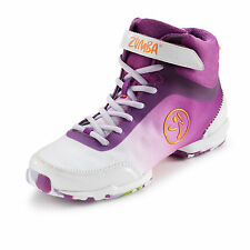 ZUMBA FLEX CLASSIC HIGH~PURPLE/WHITE~New Line! All Sizes!!Dance~Fitness Shoes