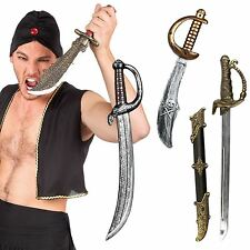 Fancy Dress Sword Knife Dagger Weapon Pirates Persia Cosplay Steampunk Toy Game