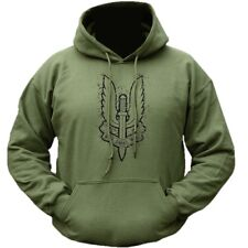 BRITISH ARMY SAS HOODIE WHO DARES WINS MILITARY MENS FLEECE HOODY SPECIAL FORCES
