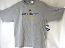 NEW Mens MAJESTIC Golden State Warriors Basketball Big and Tall Gray NBA T-Shirt