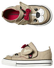 New Converse Tots Girls Chuck Taylor All Star Creatures Shoe Natural