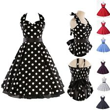 100% Cotton Vintage Rockabilly Retro Swing 50s pinup Housewife Dress Plus Size