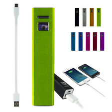 2600mAh USB Power Bank External Battery Charger For iPhone Android Cell Phones