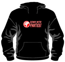 Down With Panties Pullover Hoodie *High Quality, Unisex, All Sizes* sexy kinky