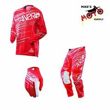 Answer Racing A13 Rush Pant/Jersey/Glove Combo Red