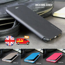 SLIM! Genuine PU Leather Flip Case Wallet Cover For Apple iPhone 5 5S 6 & 6 PLUS