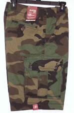 NWT Men's Arizona Jeans Classic Fit  Camo Cargo Shorts  Size 30 36 Camouflage
