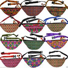 Adults Ladies Womens Girls bum bag waist bag handcraft holiday festival pocket