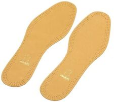 TACCO Leather Insoles Support All Shoe Sizes Deluxe Inserts New Luxus
