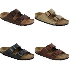 Birkenstock Arizona Vegan Sandals - grey brown beige - Microfiber