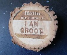 Hello my name is I AM GROOT Name Tag OR Magnet - Guardians of the Galaxy Groot