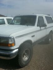 Ford : Bronco xlt